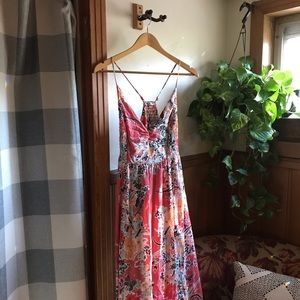 Free People Dresses - FREE PEOPLE Floral Maxi Dress